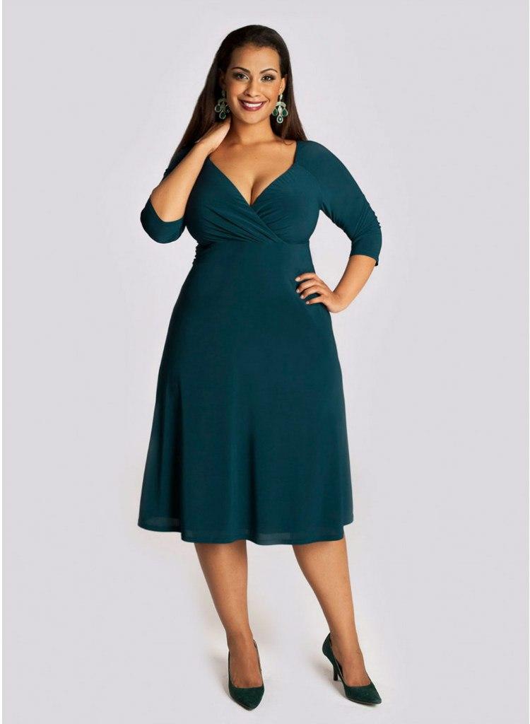Купить Стильное Платье Больших Размеров Для Полных Женщин